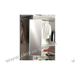 LUSTRO WYSUWANE OBROTOWE 180° chowane w szafie /rama aluminiowa/ 450x38x565mm Häfele 805.72.291