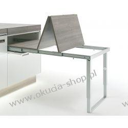 Okucie składane do stołów rozkładanych ze składaną nogą do szer. 862mm Häfele 642.19.925 Dom i Ogród