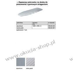 POKROWIEC na deskę do prasowania IRONFIX aluminium Häfele 568.60.923 Pozostałe