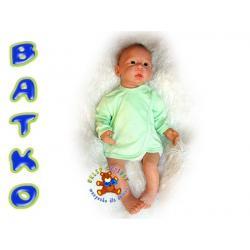 Batko Koszulka kolor gładka r.68 zielona !!