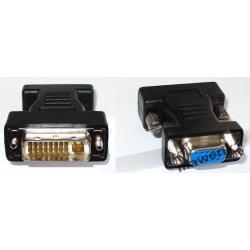Adapter DVI-I / D-Sub HD VGA DualLink DWUSTRONNY