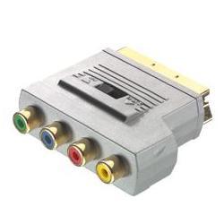 Adapter SCART / 3xRCA RGB + 1xRCA Composit gwr FV