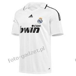 Koszulka Real Madryt 09/10 domowa + nadruk