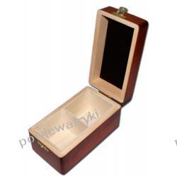 Powiew Afryki skrzynka, pudełko drewniane na herbatę -2 przegródki
