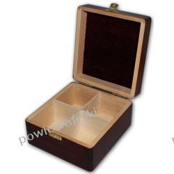 Powiew Afryki skrzynka, pudełko drewniane na herbatę -4 przegródki