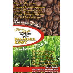 Kawa ziarnista arabika  aromatyzowana suszona śliwka
