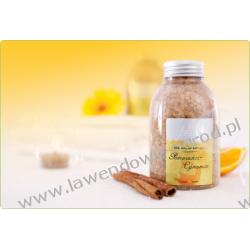 Sól mineralna - Pomarańcz-Cynamon - 550g