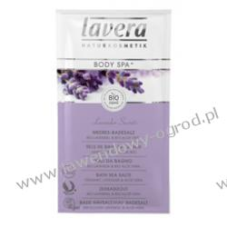 Sól do kąpieli Lavender secrets z lawendą i aloesem z upraw ekologicznych - 5 x 80g