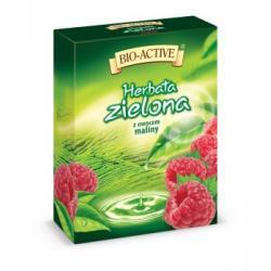 Herbata zielona z owocem maliny - fix 20 torebek po 1,8g