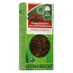 Herbatka truskawkowo-malinowo-różana kartonik 100g