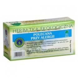 POLECANA PRZY ALERGII herbatka ekologiczna saszetki 20x2g