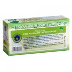 POLECANA PRZY NADMIARZE CHOLESTEROLU herbatka ekologiczna saszetki 20x2g
