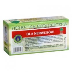 DLA NERWUSÓW herbatka ekologiczna saszetki 20x2g