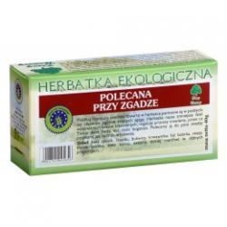 POLECANA PRZY ZGADZE herbatka ekologiczna saszetki 20x2g