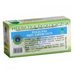 POLECANA PRZY ZAPARCIACH herbatka ekologiczna saszetki 20x2g