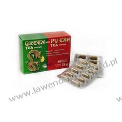 Ekstrakt z zielonej herbaty z herbatą Pu-erh - 60 kaps.