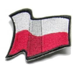 Naszywka z  flagą Polski