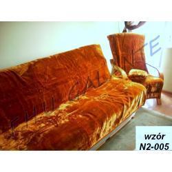 NARZUTA  KOC _ NA KANAPĘ I FOTELE 160x210 +2 x 70x160