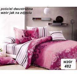 POŚCIEL BAWEŁNA SATYNOWA 220x200 wzór 482