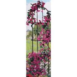 Pergola ogrodowa na róże 160cm METALOWA !