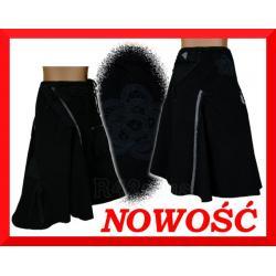 DNY NIEPOWTARZALNA GRANATOWA SPÓDNICA ROZ.50*NOWA