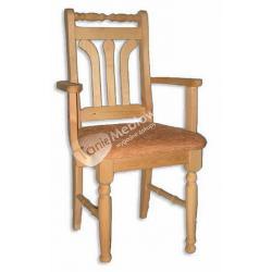 Krzesło WK-METTE z podłokietnikiem