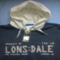 LONSDALE bluza roz L  69zł !!! SKLEP