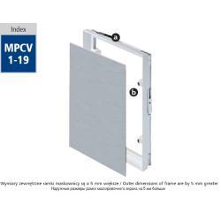 Maskownica PCV MPCV15 250x400