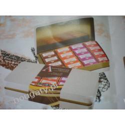 Boîte Métal 32 Bouchées de Chocolat au Nougat de Montélimar Tendre