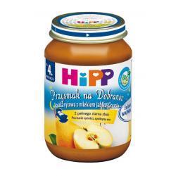 Hipp Kaszka ryżowa z mlekiem jabłko-gruszka  BIO po 4 m-cu 190g