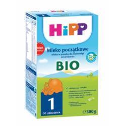 Hipp Ekologiczne Mleko początkowe HiPP 1 BIO od urodz.300g