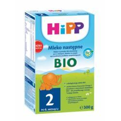 Hipp Ekologiczne Mleko następne HiPP 2  BIO po 6 m-cu 300g
