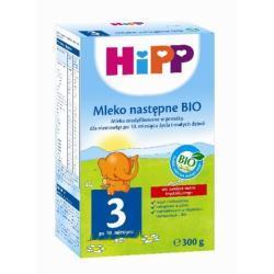 Hipp Ekologiczne Mleko następne HiPP 3 BIO po 10 m-cu 300g