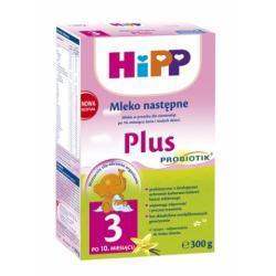 Hipp Probiotyczne Mleko następne HiPP 3 Plus  po 10 m-cu 300g