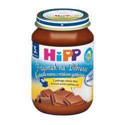Hipp Kaszka manna z mlekiem i czekoladą BIO po 5 m-cu 190g