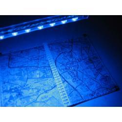 Oświetlenie akwarium NEON 12 LED 27c zasilacz reg