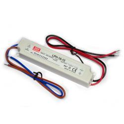 Zasilacz 12V 1.5A wodoszczelny lph-18-12 LED