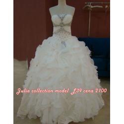 Suknia ślubna kolekcja 2012 model L39
