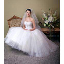 Suknia ślubna kolekcja 2012 model AN031