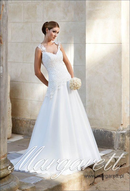 Suknia ślubna Margarett Kolekcja Fantastico Model Forte Na Bazarekpl