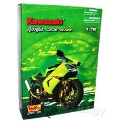 MAISTO motocykl do składania KAWASAKI NINJA 1:12