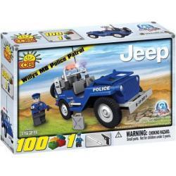 Klocki COBI patrol Policyjny Jeep Willys Patrol 100 el. nr1529