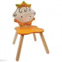 Drewniane krzesełko - Królewicz