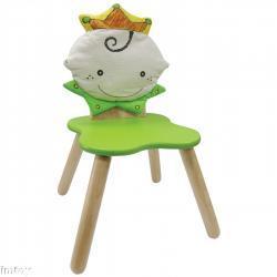 Drewniane krzesełko - Królewna
