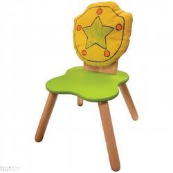 Drewniane krzesełko - Tarcza
