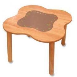 Drewniany stolik - seria Królestwo