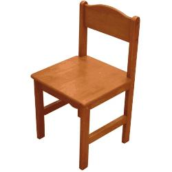 Klasyczne drewniane krzesełko dla dzieci