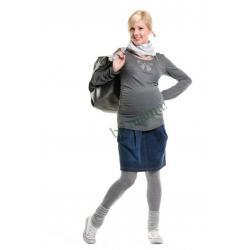 BE! MAMA Ciążowa ELEGANCJA bluzka Flame new XL
