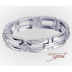 Męska efektowna  bransoleta od firmy Tyfanit