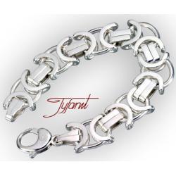 Męska  okazała bransoleta od firmy Tyfanit